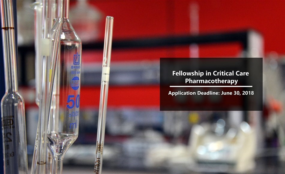 Fellowship in Critical Care Pharmacotherapy