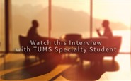 Interview with TUMS Specialty Student - Part 3